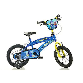 Finding Dory Kids Bike - Blue - 16 Inches Children's Bike - Dino Bikes