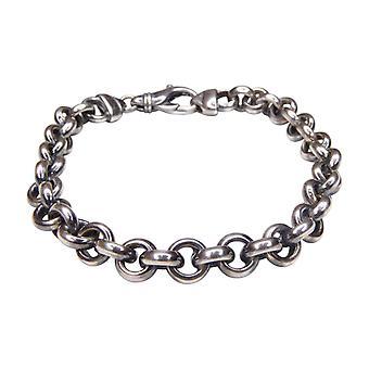 Christian silver jasseron bracelet