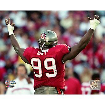 Warren Sapp Super Bowl XXXVII foto afdrukken