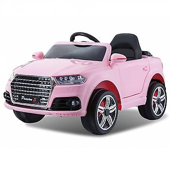 Audi Q7 Style Ride on Car 12v Pink with Parental Remote Control