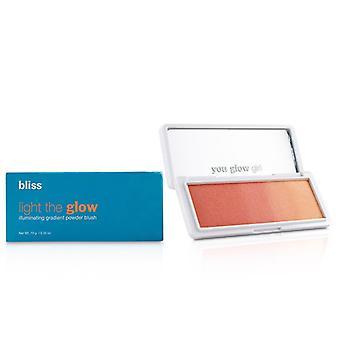 Bliss Light the Glow Illuminating Gradient Powder Blush - # Bellini Sunset - 10g/0.35oz