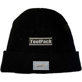 Chapeau Pack travail outil avec éclairage LED noir