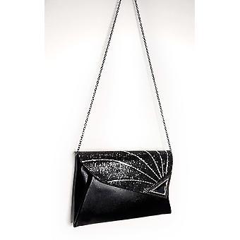 IKRUSH Womens Jade Sequin Embellished Clutch Bag