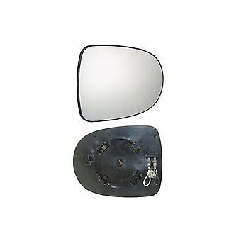 Links / rechts spiegelglas (verwarmd) voor Renault CLIO mk3 2010-2013