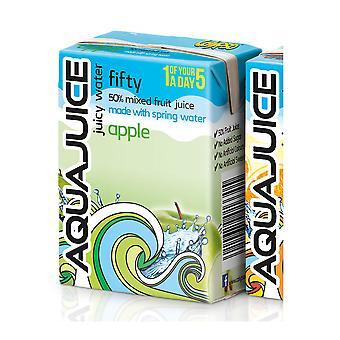 Aqua Saft Apple Juicy Water Kartons