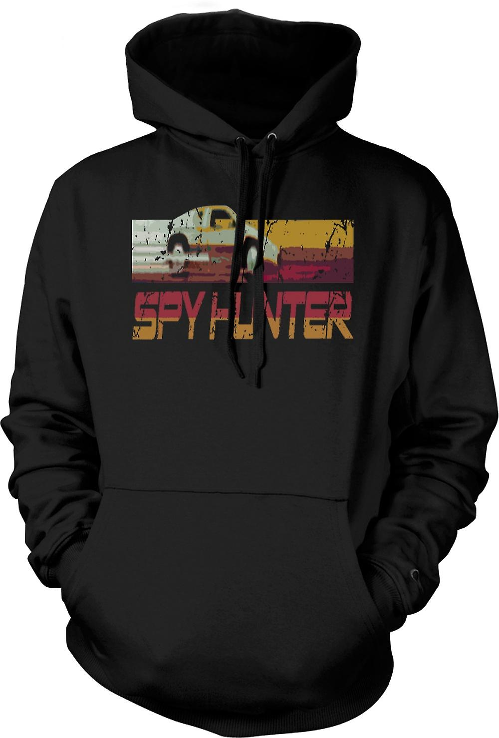 Mens Hoodie - Spyhunter - C64 - Retro Computer Game 0s