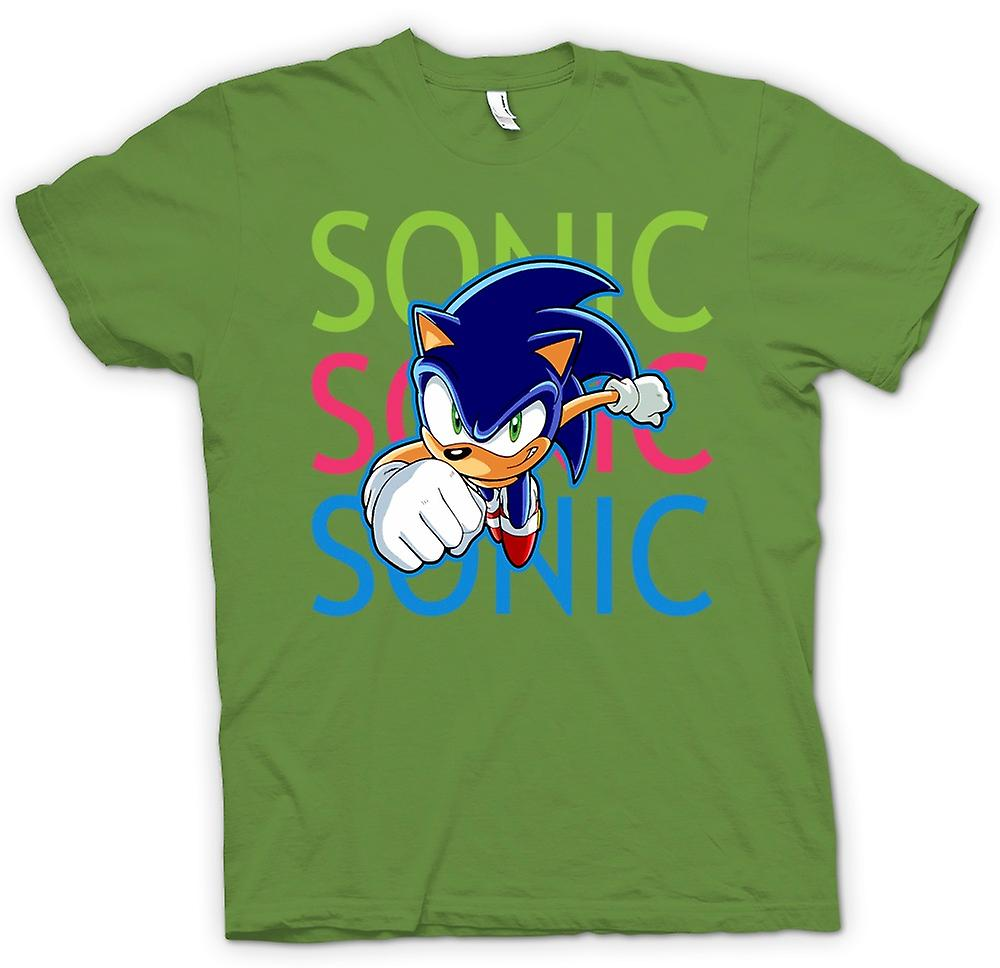 Herren T-Shirt - Sonic The Hedgehog - Gamer