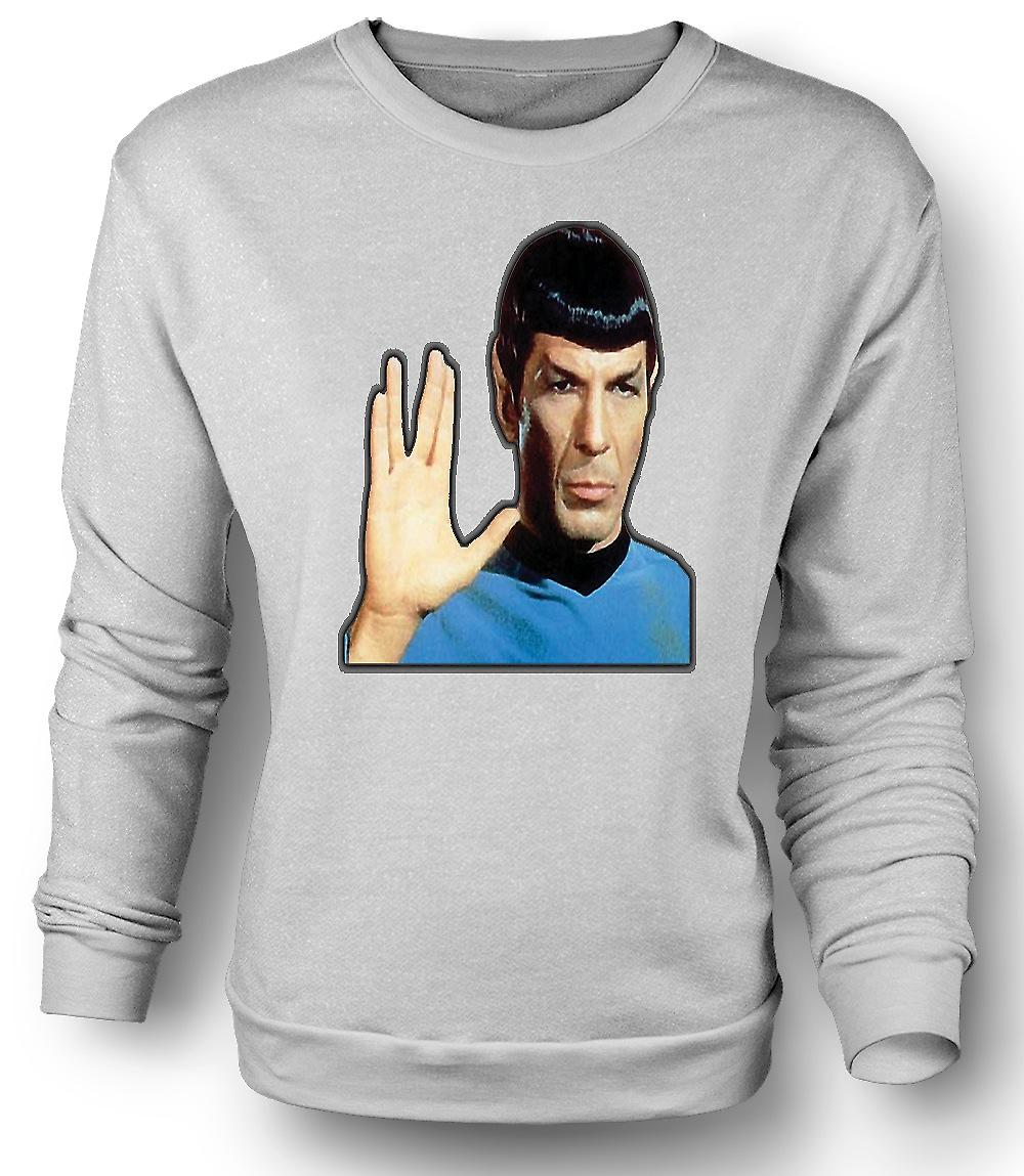 Mens Sweatshirt herr Spock - Star Trek