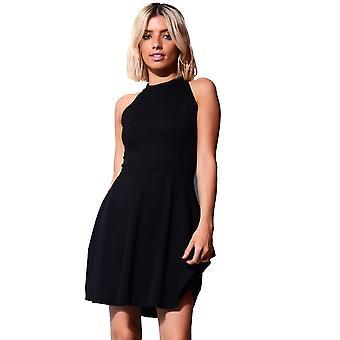 Lovemystyle schwarz Runde Kleid mit kurzen Skater