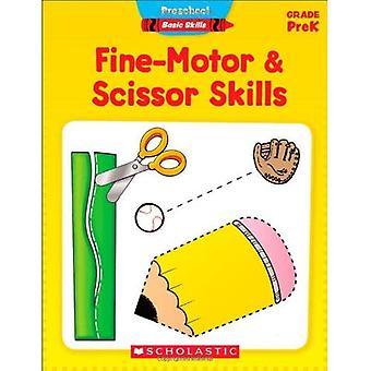 Motricidad fina y tijera habilidades, grado de PreK (preescolar competencias básicas (sin numerar))