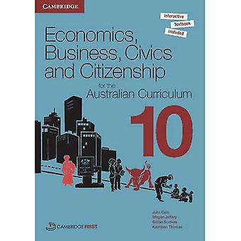 Economics, Business, Civics and Citizenship for the Australian Curriculum Year 10 Pack
