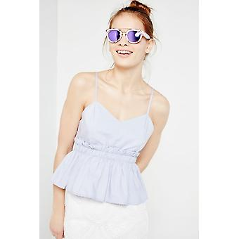 Freyrs Round Marble Frame Sunglasses