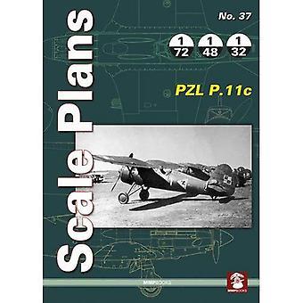 Scale Plans: PZL P.11c: No. 37