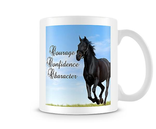 Courage Confidence Character Mug