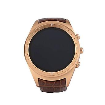 Stuff Certified ® Original K18 Plus SmartWatch Android Smartphone Watch OLED Gold