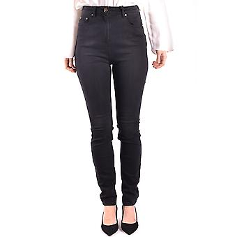 Elisabetta Franchi Black Cotton Jeans