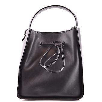 3.1 Phillip Lim schwarz Lederhandtasche
