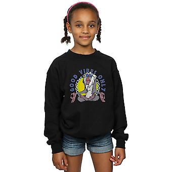 Disney Girls The Lion King Rafiki Good Vibes Only Sweatshirt
