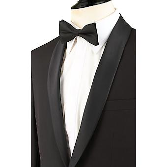 Dobell Boys Black Tuxedo Dinner Jacket Regular Fit Shawl Lapel
