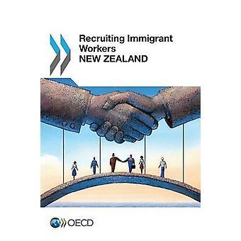Recrutamento de imigrantes trabalhadores Nova Zelândia 2014 pela OCDE