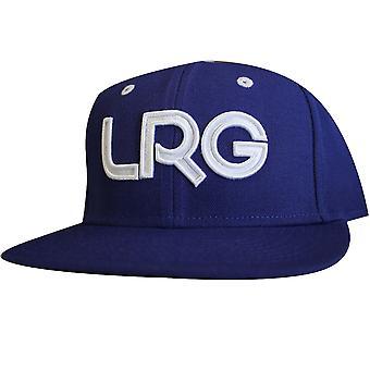 Lrg Branded Snapback Hat Gibson Blue