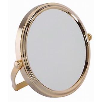Famego 7x Magnification Mirror in Gold