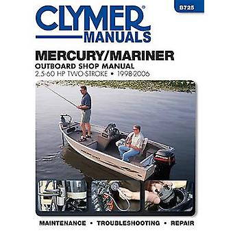 Mercury/Mariner 2.5 - 60 HP 2-Stroke Outboard Motor Repair Manual by