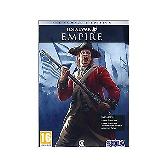 Empire Total War Complete Edition PC DVD Game