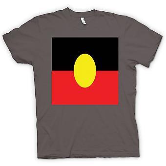 Kids t-shirt-bandera aborigen australiana