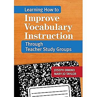 Leren hoe je woordenschat instructies verbetert via docenten studiegroepen
