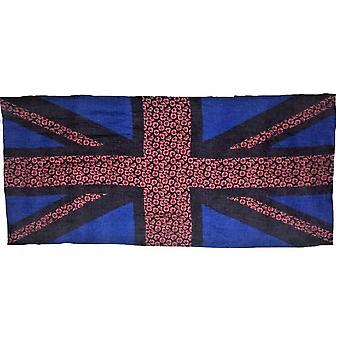 Union Jack Wear Union Jack Poppy Flag Scarf