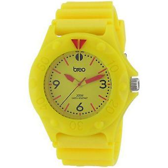 Breo Unisex Pressure Yellow Watch B-TI-PRS6