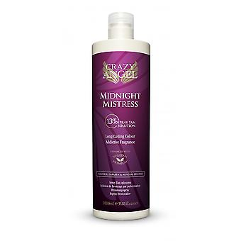 Crazy Angel Midnight Mistress Spray Tan Lotion 13% 1000ml