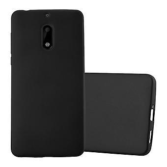 Cadorabo Hülle für Nokia 6 2017 Case Cover - Handyhülle aus flexiblem TPU Silikon – Silikonhülle Schutzhülle Ultra Slim Soft Back Cover Case Bumper
