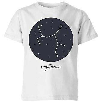 Sagittarius Kids' T-Shirt - White